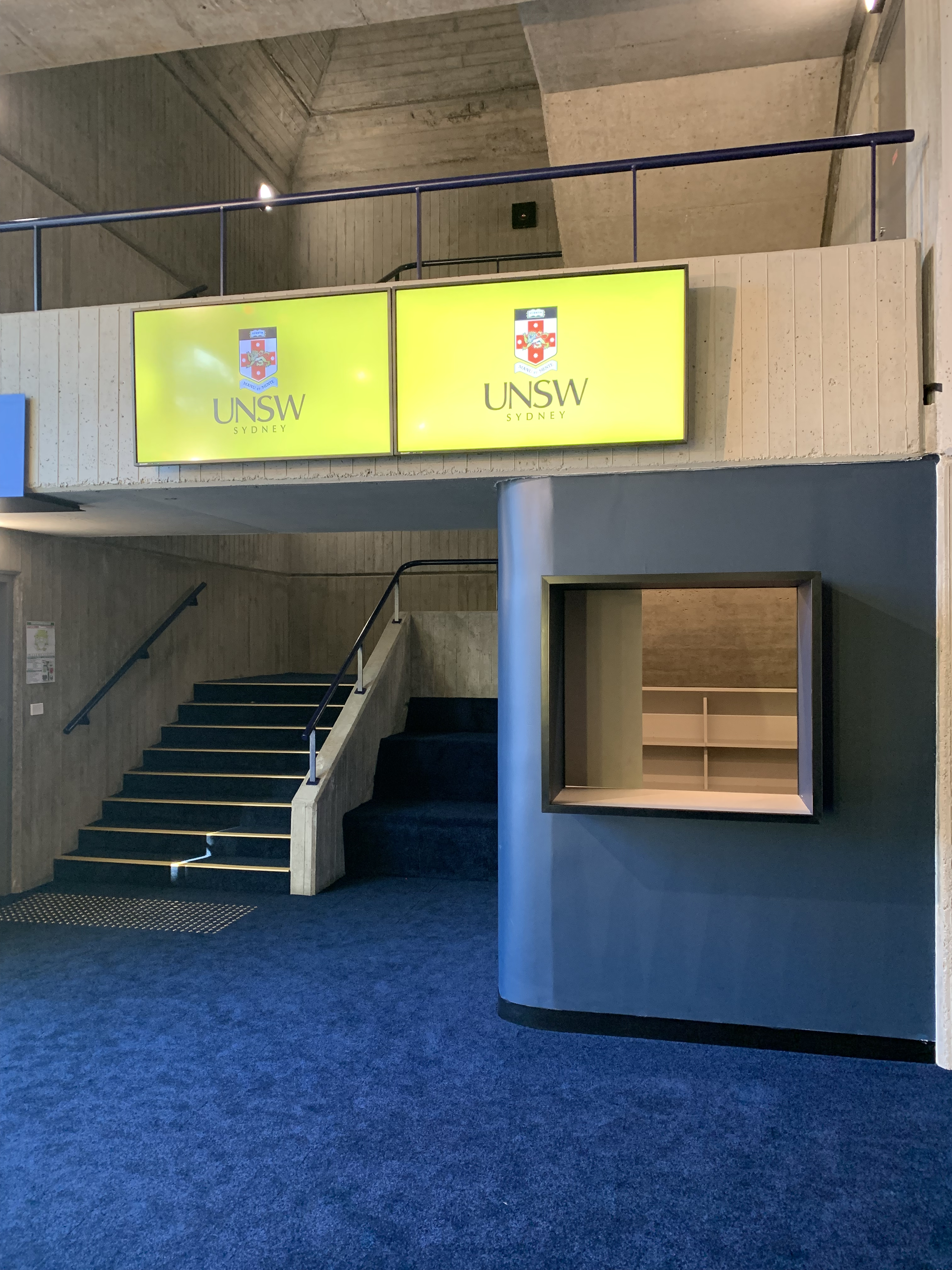 Sir John Clancy Auditorium Box Office