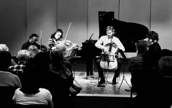 Goldner String Quartet plays Dvoraks American Quartet