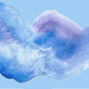 Canva - Watercolor Splotch Shape With Background (1) 9000x5494px